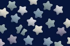 The Fault in Our Stars (JossieK) Tags: sprinkles stars sugar decorating macromondays myfavouritenovelfiction blue cakedecoration broken