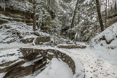 Winter Splendor (arthuroleary) Tags: winter ohio snow midwest winterwonderland unitedstates hockinghills oldmanscave cold fz1000 lumixphotography photography photo hike hiking