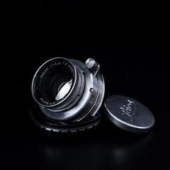 1935 Ernst Leitz Wetzlar Summar 5 cm f/2 (::nicolas ferrand simonnot::) Tags: ernst leitz wetzlar summar 5 cm f2 1935   6 blades aperture ltm mount paris 2018 leica cameraporn bw