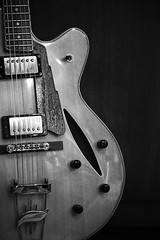 Musician's friend (hightoneguy) Tags: blackwhite guitars still life