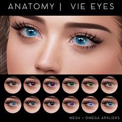 ANATOMY - VIE EYES @ BLUSH (daeberethwen) Tags: anatomy blush eyes omega secondlife