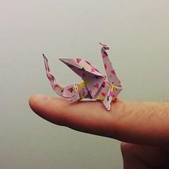 Petit dragon rose 🐲 #origami #origamiart #papercraft #paper #paperart #craft #paperfolding #dragon #dragons #origamidragons #origamidragon #paperdragon #paperdragons (OrigamiInvasion) Tags: origami paperfolding papercraft paper craft