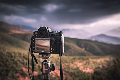 Nikon D810 by Sony RX1RM2 (icarium82) Tags: sonydscrx1rm2 landscape landschaftterrain nature travel camera tripod morocco atlas mountains sunrise dslr setup nikond810 sundaylights
