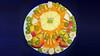 Bildschichten Fruechteteller 00p (wos---art) Tags: früchteteller obstteller geschnittenefrüchte obst bildschichten früchte inliebe füresther orangen kiwi banane birne himbeeren ananas weintrauben apfel