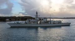 HMS Westminster 5th November 2017 #11 (JDurston2009) Tags: f237 hmswestminster devon dukeclass frigate hamoaze plymouth rivertamar royalnavy type23 warship