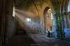 El monje. (copelius38) Tags: monastry monje monk luz light fantasy terror cripta crypt ventanas windows monasterio longexposure abandonado abandoned
