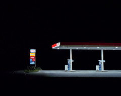 Esso, A31 (Dan Parratt) Tags: nightphotography nightfoto night time film mamiya rz67 rz67proii mamiyarz67 kodakportra400 portra portra400 twentysixgasolinestations 26gasolinestations 26gasstations twentysixgasstations edruscha gasolinestation