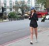 Cumberland Gate Runner (Waterford_Man) Tags: run runner running jog jogger jogging girl shorts people path candid hot london