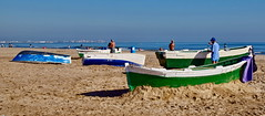 Beach, Boats in repair (gerard eder) Tags: world travel reise viajes europa europe españa spain spanien valencia beach boats boote barcas städte stadtlandschaft strand playa malvarrosa paisajes panorama people peopleoftheworld outdoor