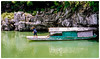 Mobile homes on the river (jmiller35) Tags: riverlife rocks mountain outdoors travel canon boat river people asia china