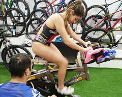 Alba Álvarez triatlón Indoor team clavería triatlón World 2