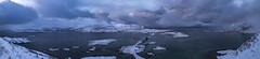 Panomara view of Ramberg (___pete___) Tags: norway lofoten polar night winter road trip islands panorama