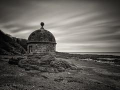 Round House (stephen cosh) Tags: ayrshire blackandwhite culzean hasselbladx1d hasselbladxcd30mm landscape mediumformat mono scotland stephencosh