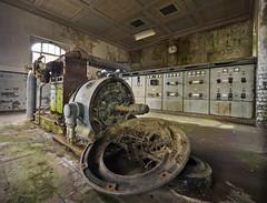 Das kleine Kraftwerk (13) (david_drei) Tags: derelictbuildings lostplace decay lost place kraftwerk powerstation powerplant sachsen fundstück saxony