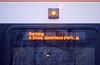 Class 172 in Gospel Oak (zawtowers) Tags: gospel oak barking line goblin london overground train railway rail service monday 15th january 2018 wet raining travel urban turbostar class 172 orangeline orange outside screen destination scrolling message