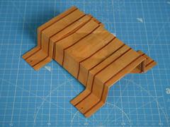 Six Interlocking Ducts (SID) unit (top view) (ISO_rigami) Tags: sid unit modular origami 3d a4 eckhardhennig module rectangular
