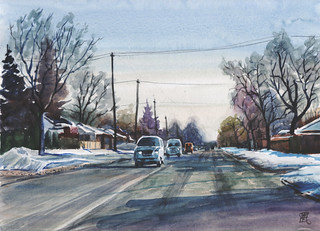 Brimley Road, 2018-01-31