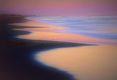 The Sea of the dawn which colors (chikaraamano) Tags: sea wave dawn sky colors horizon winter gentle wrapped quiet pure view pause time space peaceful happily create collaboration creating beautiful peace happy