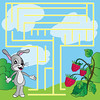 Children's puzzle - maze (bolaos56) Tags: maze insect puzzle labyrinth way children fun game flower bee entertainment find play happy animal relaxation drawing solution path cartoon pismire meadow destination table leisure fly ladybug two target card riddle games puzzlement easy emmet sun scrawl pathfinder beehive composition mind illustration indoor zzzaaaaaaghahfhkhkgmgf