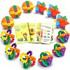 Fun Puzzle Balls with FREE Colorful Instruction Guide by Gamie - Party Games - Fidget Brain Teaser Puzzles - Includes 12 Fun and Challenging Puzzle Balls | Great Educational Toy for kids (saidkam29) Tags: balls brain challenging colorful educational fidget free games gamie great guide includes instruction kids party puzzle puzzles teaser