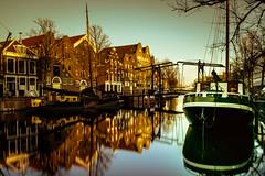 Golden hour in Schiedam, Netherlands (hboudeling) Tags: schiedam zuidholland netherlands nl