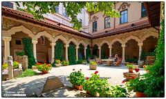 Stavropoleos Monastery (aditeslo) Tags: romania bucharest monastery stavropoleos