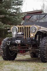 Jeep & Snow -12 (sammycj2a) Tags: willys jeep snow nikon rockcrawler winch factor55 ogden utah