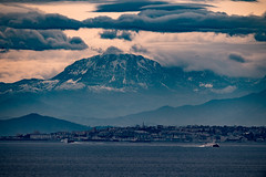 Snow in Africa as seen from Gibraltar (David Parody) Tags: