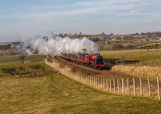 The Winter Cumbrian Mountain Express 24-2-2018