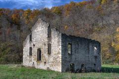 Mill Ruins m5s (Greg Riekens) Tags: mill fillmore gribbenmill midwest ruins usa nikond500 stonebuilding history whalen fillmorecounty gribbencreek millruins historic minnesota nikkor
