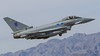 """Eurofighter Typhoon FGR4 of RAF No 6 Squadron, """"The Flying Can Openers"""", from RAF Lossiemouth (Norman Graf) Tags: ordnance nellisafb aircraft lsv p5ctstcts airplane zk321 klsv eurofighter fgr4 raf aircombatmaneuverinstrument no6squadron military militaryexercise redflag171 typhoon oculiexercitus theeyesofthearmy theflyingcanopeners acmi canard combattrainingsystem deltawing eg fighter jet plane raflossiemouth royalairforce tacticalcombattrainingsystem"""
