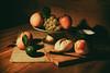 Still life (Ágnes Dudás) Tags: lime stillife orange grape fruits foods bread