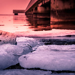 Ice by the beach (explore 2018-02-16) thumbnail
