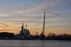 Battleship North Carolina (shuddabrudda) Tags: wilmington brooklynnavyyard ussnorthcarolina usnavy battleship downtownwilmington capefear silhouette