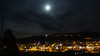 Moon Over Durango (soggymuppet62) Tags: nightphotography night durango colorado downtown lights moon canon t5 eos 1200d us usa