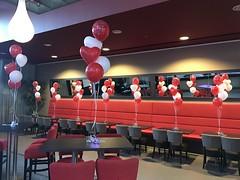 heliumballonnen rood hart met wit