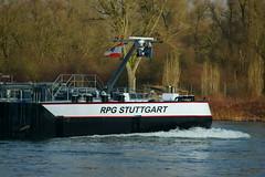 TMS RPG STUTTGART (Lutz Blohm) Tags: tmsrpgstuttgart tankschiff binnenschiffe gütermotorschiff binnenschifffahrt fe70300goss sonyalpha7aii fluskilometer410