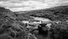 Skye Bridge (monochrome) (macrobernd) Tags: schottland 2012 isleofskye bridge brücke sky landscape fineart highland monochrome monochrom sw blackwhite fluss bach creek river water wasser scotland