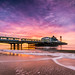 Bournemouth Pier (tonywoodphotography.com) Tags: bournemouth pier dorset sunrise sunset lanscape seascape sony a7rii long exposure lee filters sea clouds carl zeiss batis