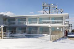 Isle of Capri Motel. (stevenbley) Tags: wildwood wildwoodcrest northwildwood nj newjersey beach winter snow offseason hotel motel january shore jerseyshore isleofcapri isleofcaprimotel