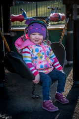 in the Park (Wayne Cappleman (Haywain Photography)) Tags: wayne cappleman haywain photography portrait children ruby daughter playing posing farnborough hampshire uk king george fifth fields park v