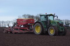 John Deere 6210R Tractor with a Vadersatd Spirit 400S Seed Drill (Shane Casey CK25) Tags: john deere 6210r tractor spirit 400s seed drill moogely jd green vaderstad traktori traktor trekker tracteur trator ciągnik sow sowing set setting drilling tillage till tilling plant planting crop crops cereal cereals county cork ireland irish farm farmer farming agri agriculture contractor field ground soil dirt earth dust work working horse power horsepower hp pull pulling machine machinery grow growing nikon d7200
