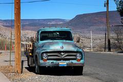 Fine '55 (twm1340) Tags: 1955 ford f100 flatbed truck clarkdale az
