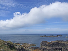 Rudimentary quasi-stationary roll cloud over 'Seal Island', near St Ives (Philip_Goddard) Tags: europe unitedkingdom britain british britishisles greatbritain uk england southwestengland cornwall penwith landsendpeninsula zennor thecarracks sealisland stives views scenery landscapes coastpath coast southwestcoastpath nationaltrail southwestway northcoast island rock rocky rugged weather meteorology clouds cloudformations lowclouds rollcloud