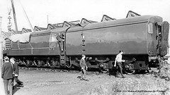 c.1962 - Leicester Central (15E) MPD, Leicestershire. (53A Models) Tags: britishrailways englishelectric vulcanfoundry gasturbine gt3 460 mpd leicestershire train railway locomotive railroad leicestercentral 15e
