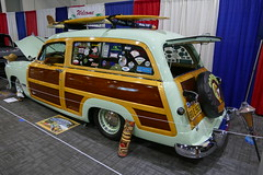 1950 Ford Country Squire WoodyWagon (bballchico) Tags: 1950 ford countrysquire woodywagon woody woodie stationwagon gnrs2018 carshow wendelljack surfwagon
