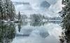 Hintersee 6 am 04.02.2018 (anna.kraft) Tags: winter see hintersee bayern germany deutschland spiegelung winterwunderland