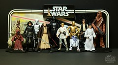 20180207 - Star Wars: The Black Series 6 Inch Action Figures - The Original Vintage Style 12 (will5967) Tags: star wars 6 inch black series vintage original 12 actionfigures actionfigureuniverse will5967 willhoover wwwactionfigureuniversecom willsactionfigureuniverse fun hasbro 1977 backdrop kenner tusken raider sand people jawa death squad commander stormtrooper ben obiwan kenobi darth vader luke skywalker c3po r2d2 han solo princess leia chewbacca
