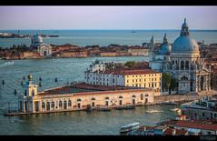 Venice: Basilica di Santa Maria della Salute (HAWKER3000) Tags: venice venezia boat sea water sky city italia italy italien canon eos 100d 55250mm stm