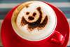 Capuccino in Tagbilaran (tarjangz) Tags: tagbilarancity centralvisayas philippines ph coffee wwf panda mug red foam capuccino